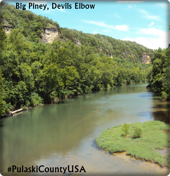 Big Piney, Devils Elbow