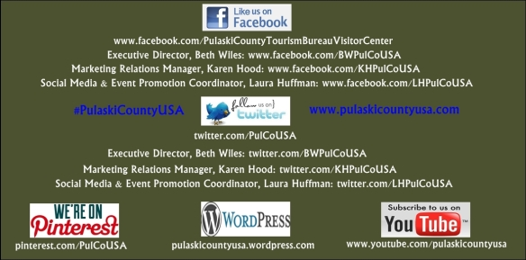 Follow #PulaskiCountyUSA on our social media channels!