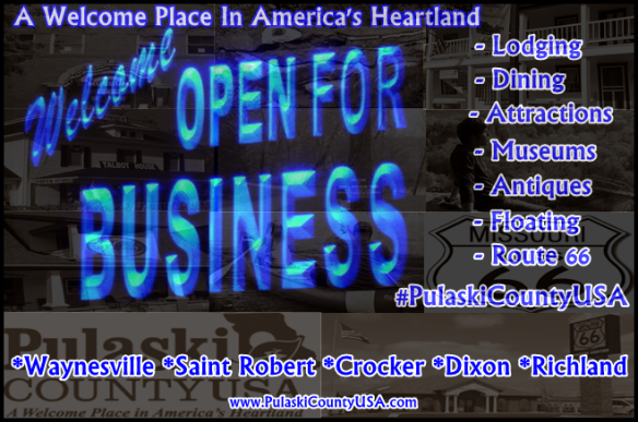 #PulaskiCountyUSA: Open For Business
