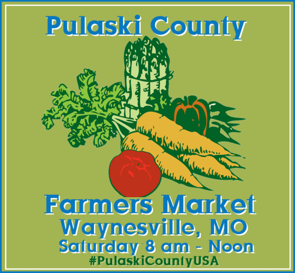 Pulaski County Farmer's Market is held year round in downtown Waynesville!