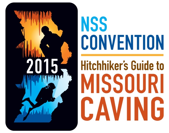 2015 National Speleological Convention Logo revised