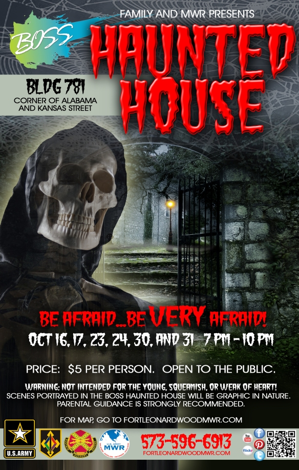 October 16 Haunted House FLW