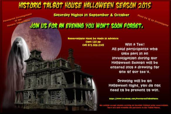 Paranormal Investigations of Historic Talbot House