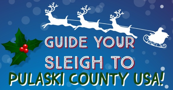 Guide your sleigh to Pulaski County USA!