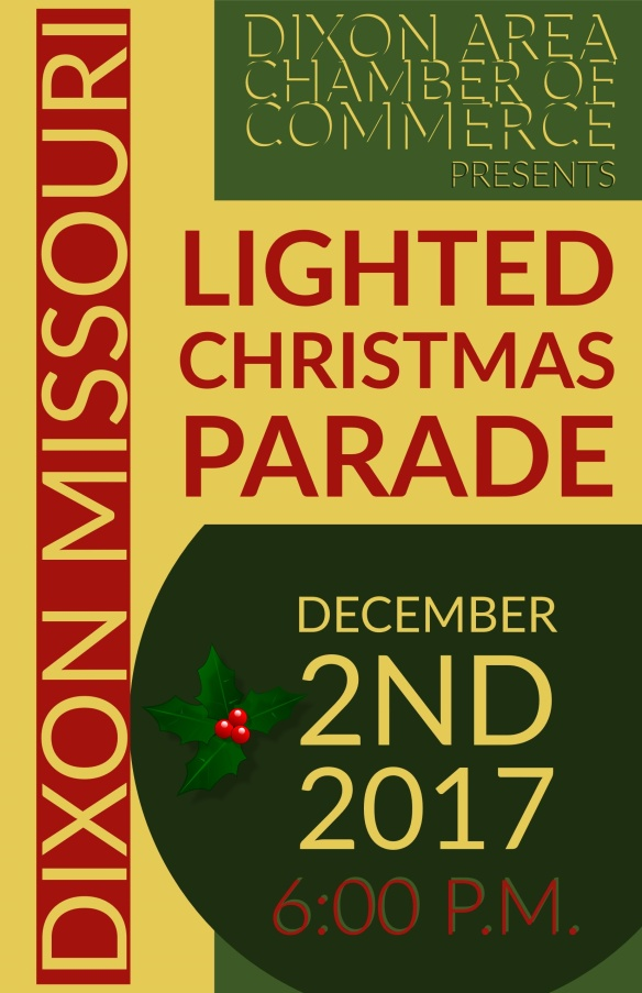 December 2 Lighted Christmas Parade Dixon