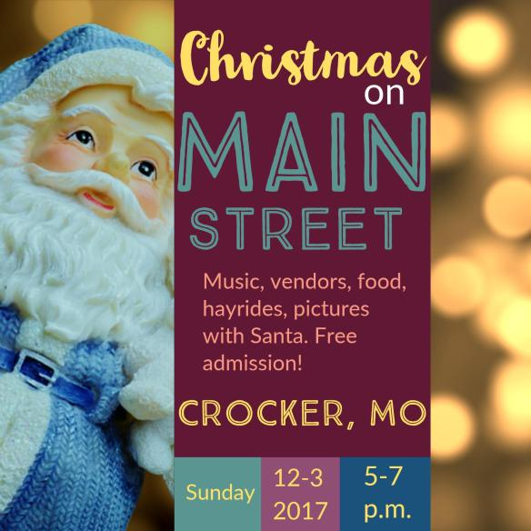 December 3 Christmas on Main Street