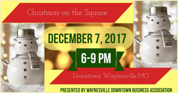 December 7 Christmas on the Square 2017
