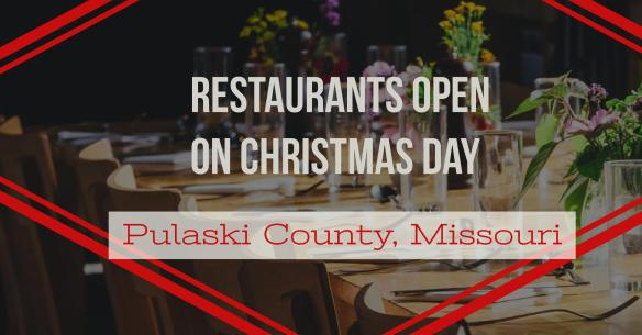 Restaurants Open Christmas Day