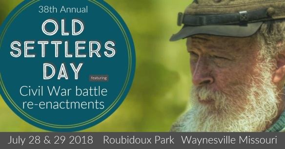 July 28 & 29 Old Settlers Day