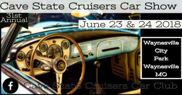 The Cave State Cruisers annual car show has been held at Waynesville City Park for 30 years.