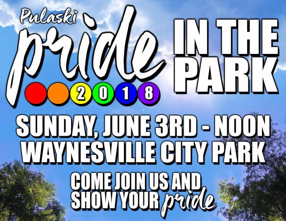 June 3 Pride in the Park 2018