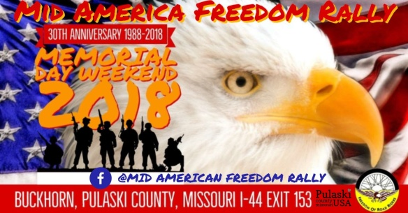 Mid American Freedom Rally Memorial Day Weekend Tagged