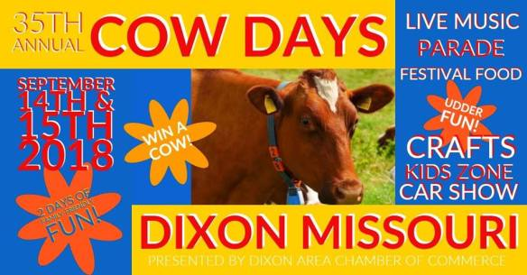 Cow Days 2018 Dixon Missouri