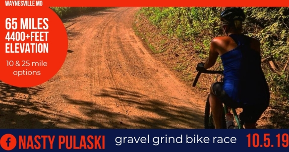 October 5 Nasty Pulaski Gravel Grind 2019