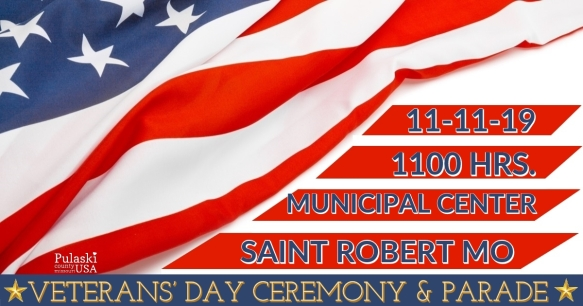 Veterans' Day Ceremony & Parade 2019 November 11